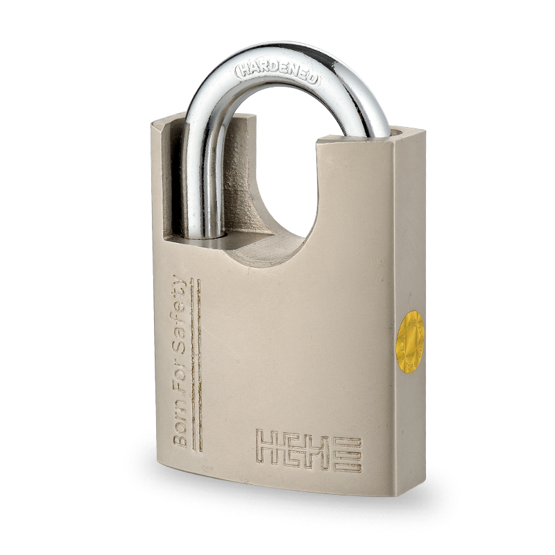 Premium Security Ni-Plated Shackle Protect Iron Padlock