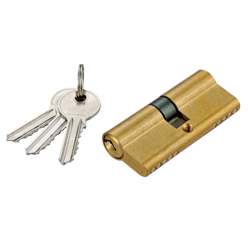 Premiun Security Square Brass Padlock