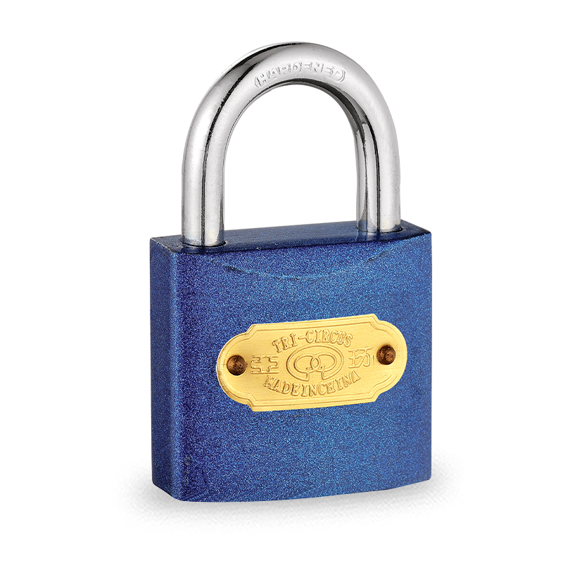 Premium Security Color Painted Normal Shape Iron Padlock