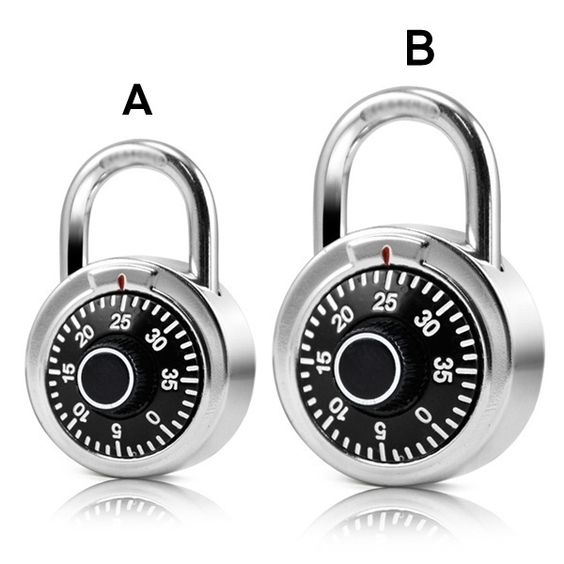 Premium Security Circle Combination Padlock