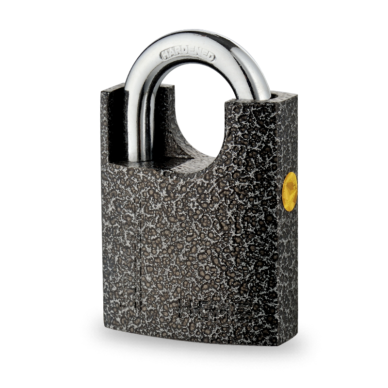 Premium Security Black Painted Shackle Protect Iron Padlock